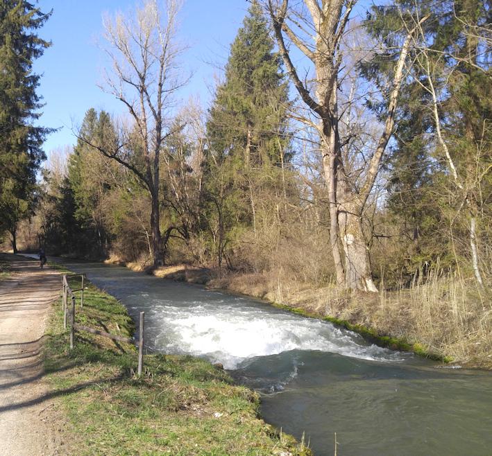 Radwanderung von Landsberg nach Augsburg am Lech entlang