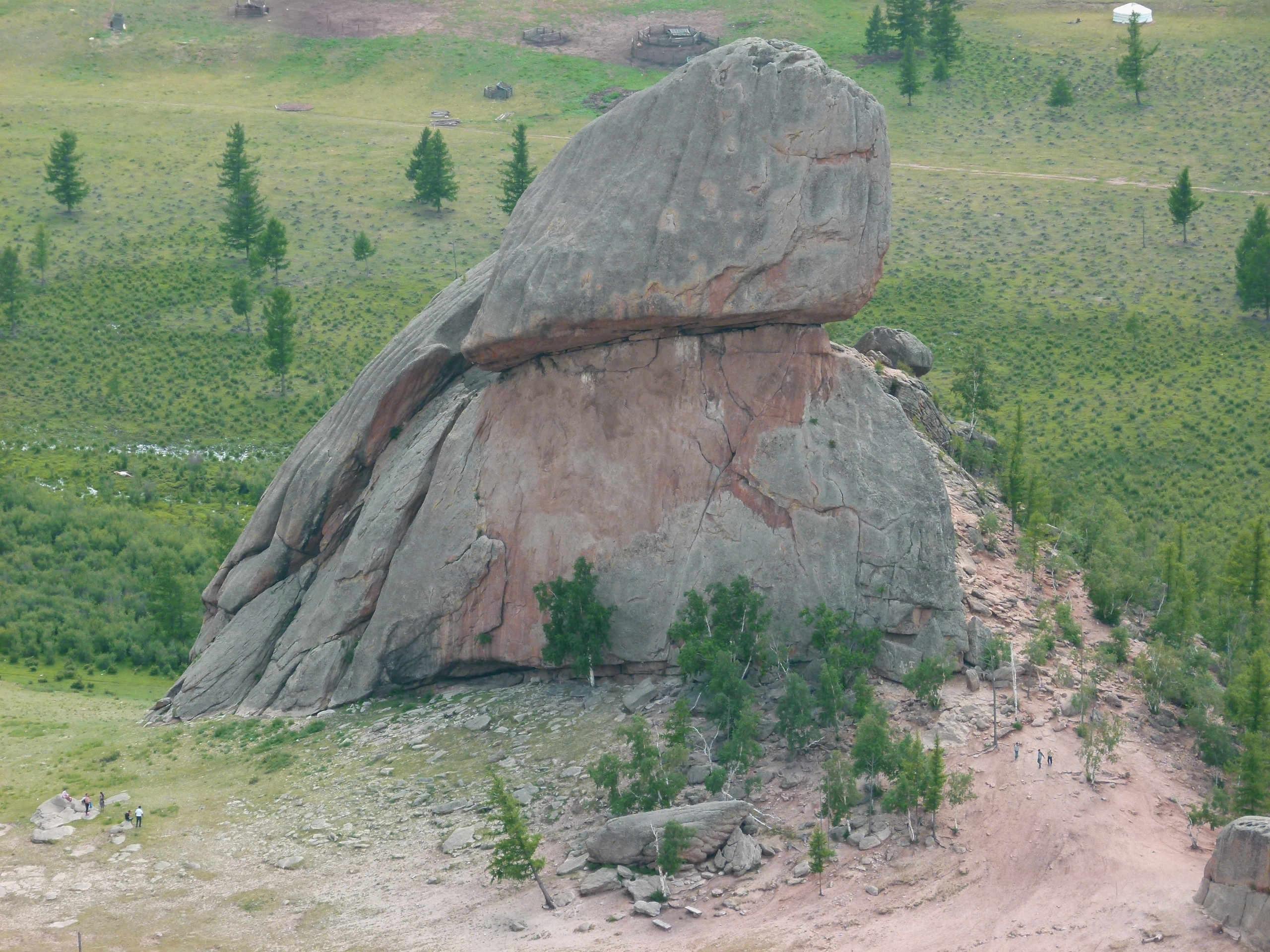 Alleine in der Mongolei: zum Tal der Schildkröte