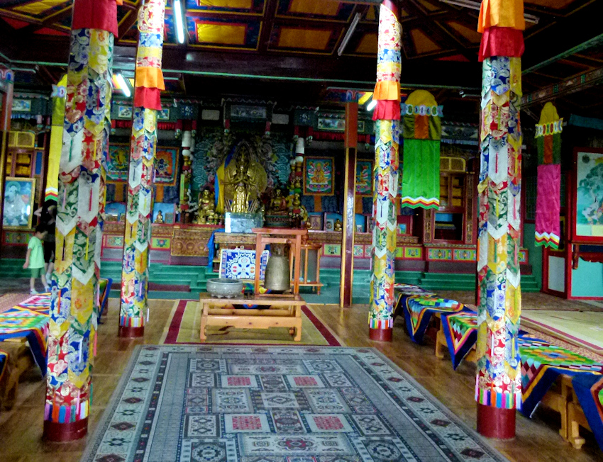 Allein in der Mongolei - zum Felsentempel