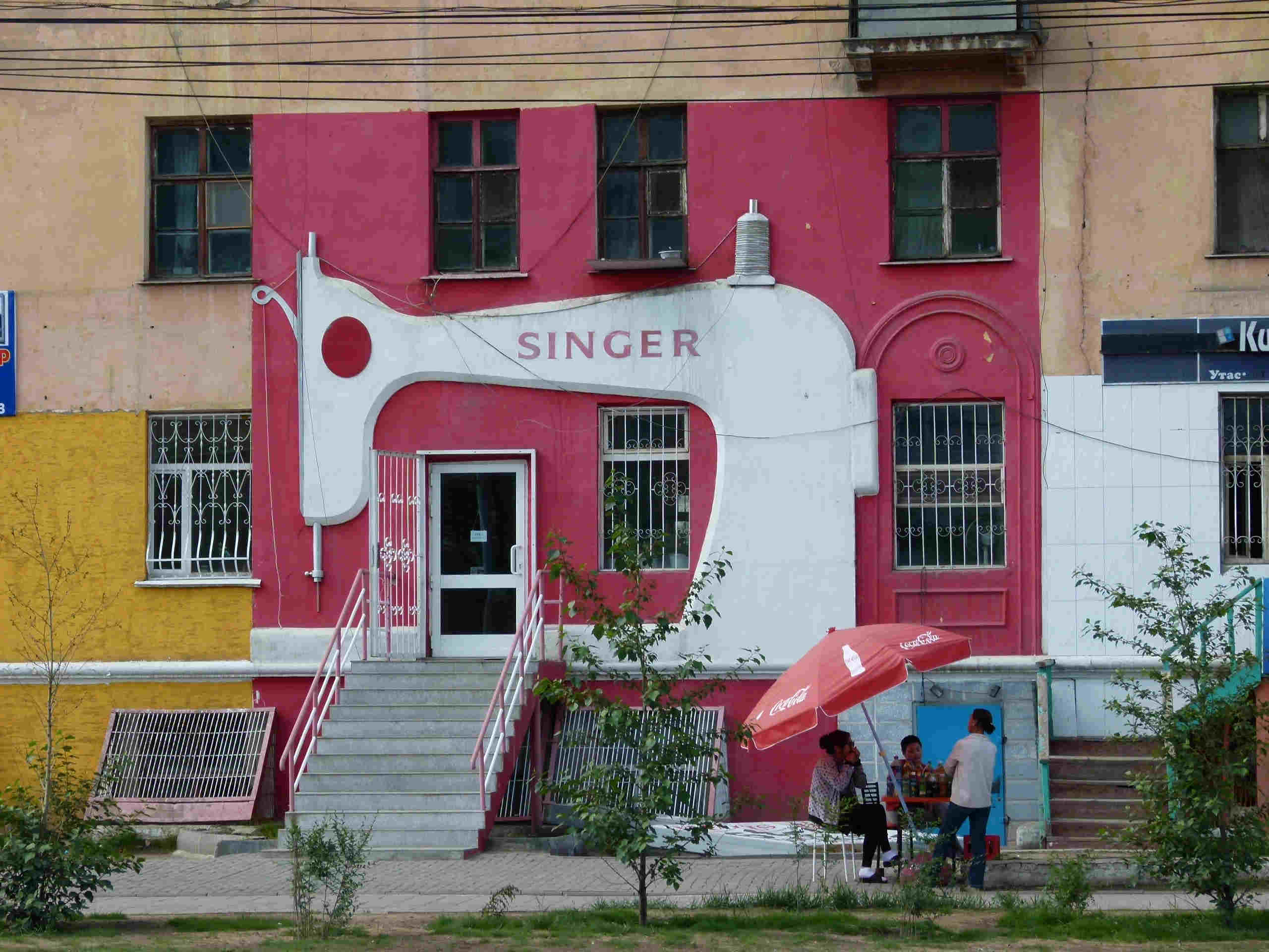 Alleine in der Mongolei: Ulaanbaatar - 1.Tag