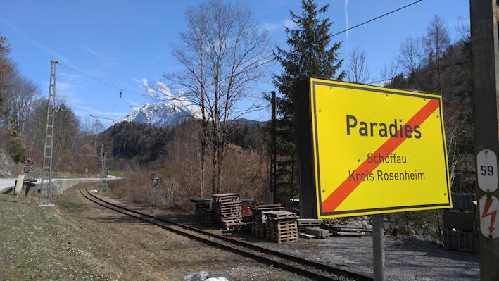 Paradies, Ortsteil von Schöffau