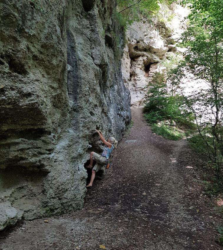 Bouldern im Buchenhain nahe München