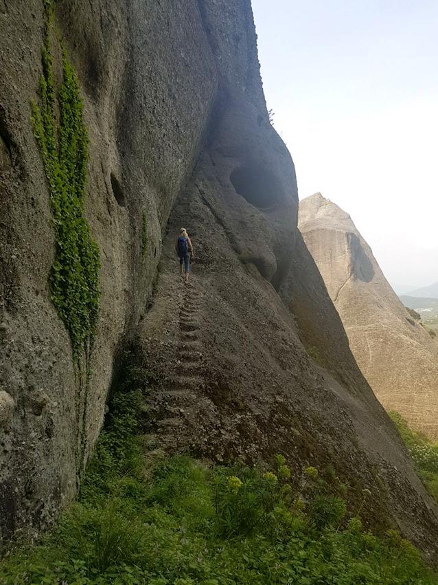 Meteora - Wanderung durch eine mystische Felsenlandschaft mit märchenhaften Klöstern