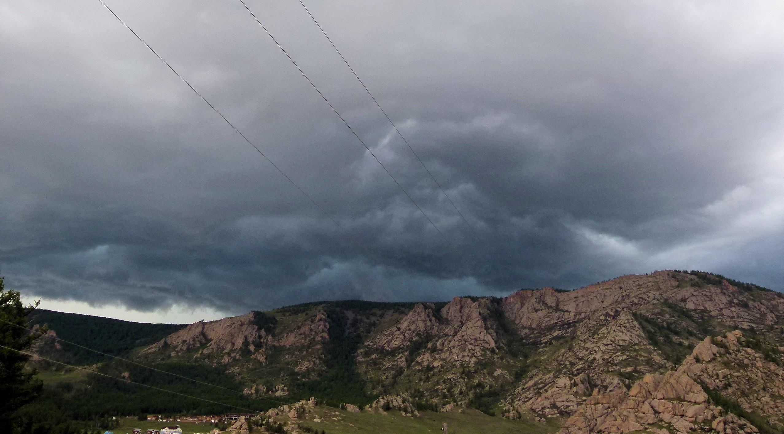 Allein in der Mongolei: vom Unwetter vertrieben - 13. Tag