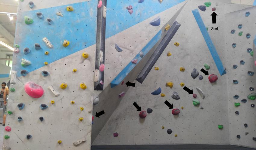 Bouldern macht Spaß