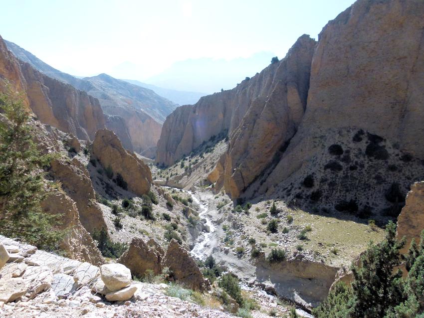 Trekking in Nepal: Etappe nach Samar