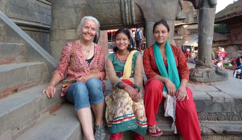 Nepal: Tika und Rangoli zum Tihar-Lichterfest