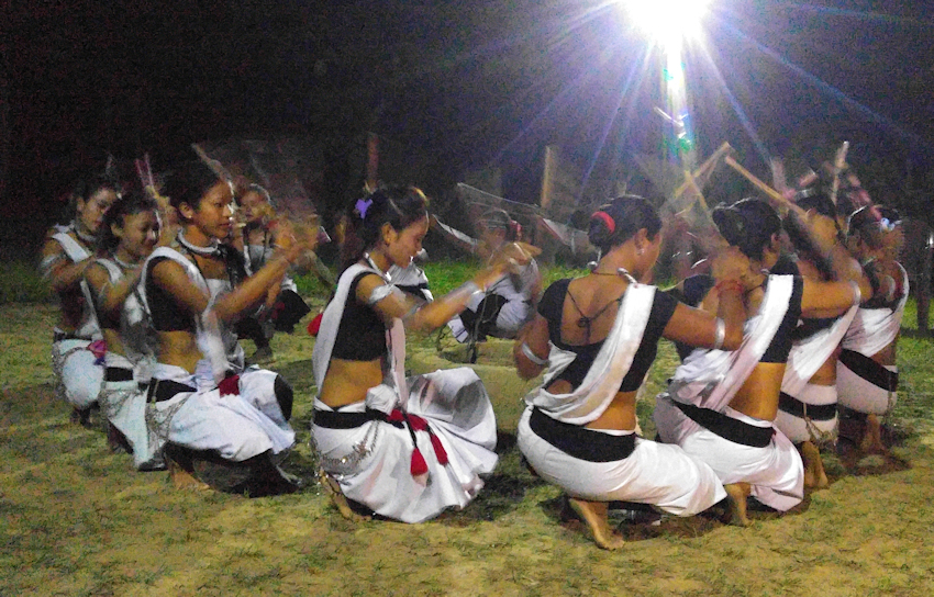 Nepal: Bodhi-Baum und Tihar-Fest