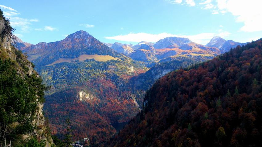 Klettersteig Königssee : Grünstein klettersteig mit var isidor bergsteigen