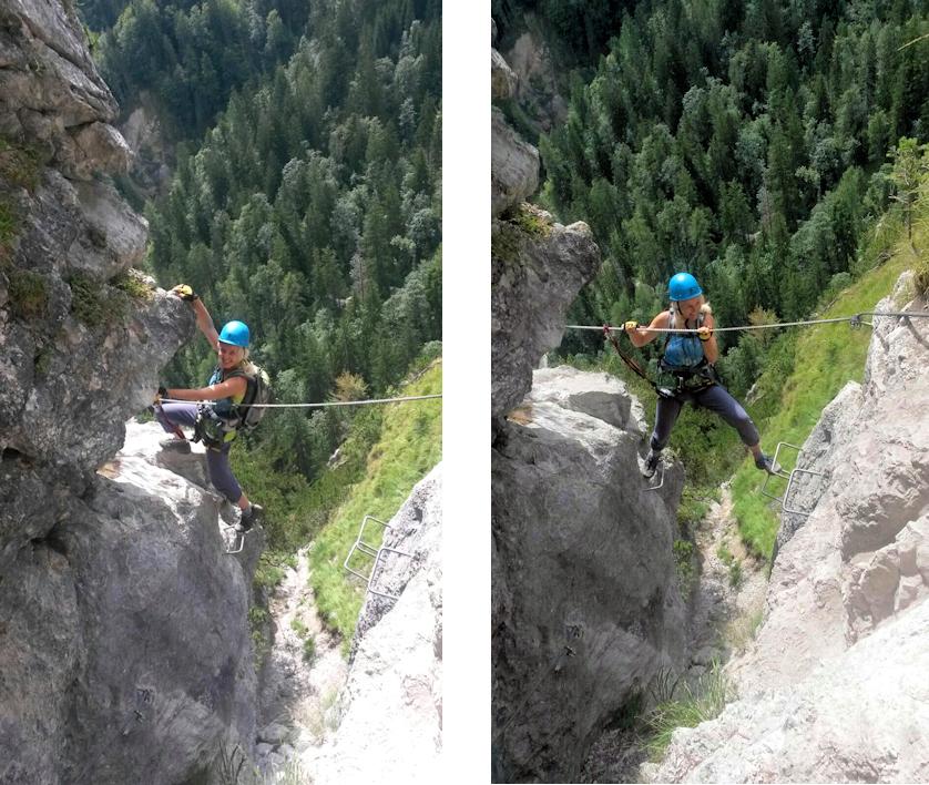 Klettersteig – ohne Auto: Grünstein, zwischen Watzmann und Königssee