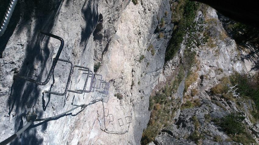 Klettersteig Königssee : Via isidor klettersteig auf den grünstein m wolfs berge iii