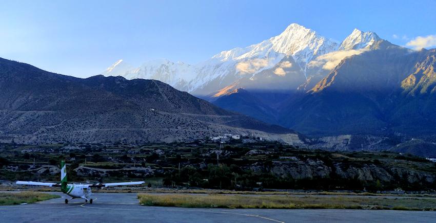 Trekking in Nepal: letzte Etappe nach Jomsom