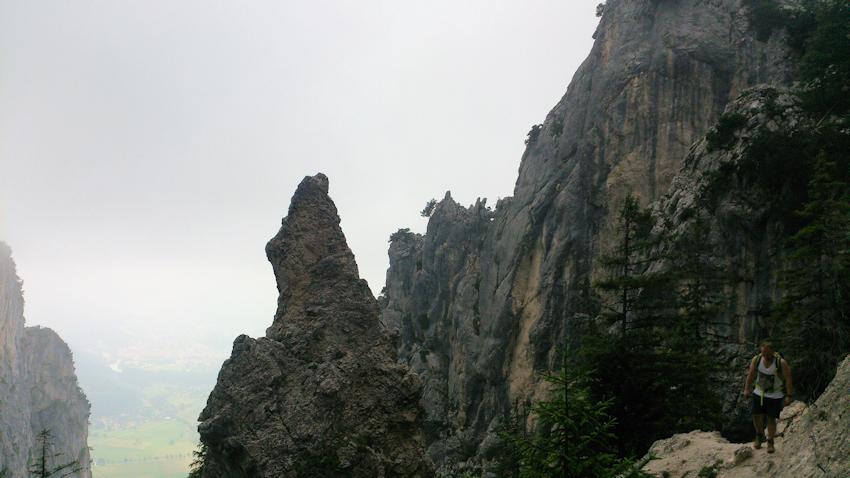 Klettersteig ohne Auto: Tegelbergsteig am Schloss Neuschwanstein