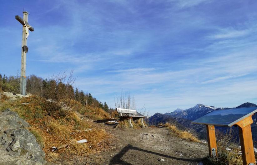 Klettersteig - ohne Auto: Hausbachfall bei Reit im Winkl