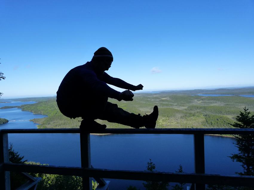 Neufundland: Terra Nova - tolle Aussicht am Malady Head