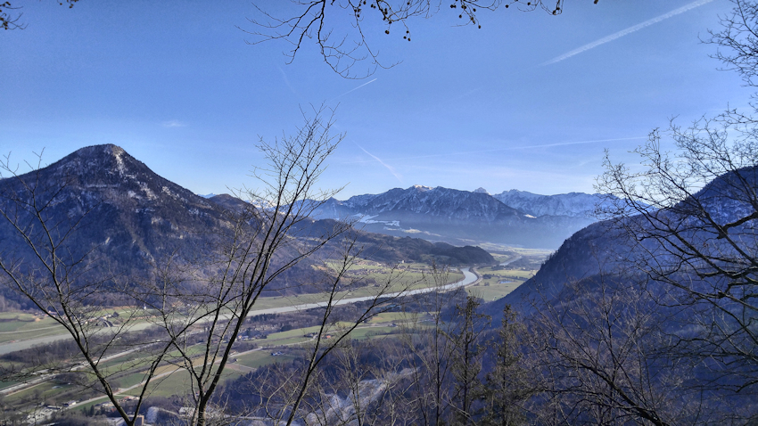 Ausblick vom Großen Madron, Ritual-Berg zu Kaiser und Inntal