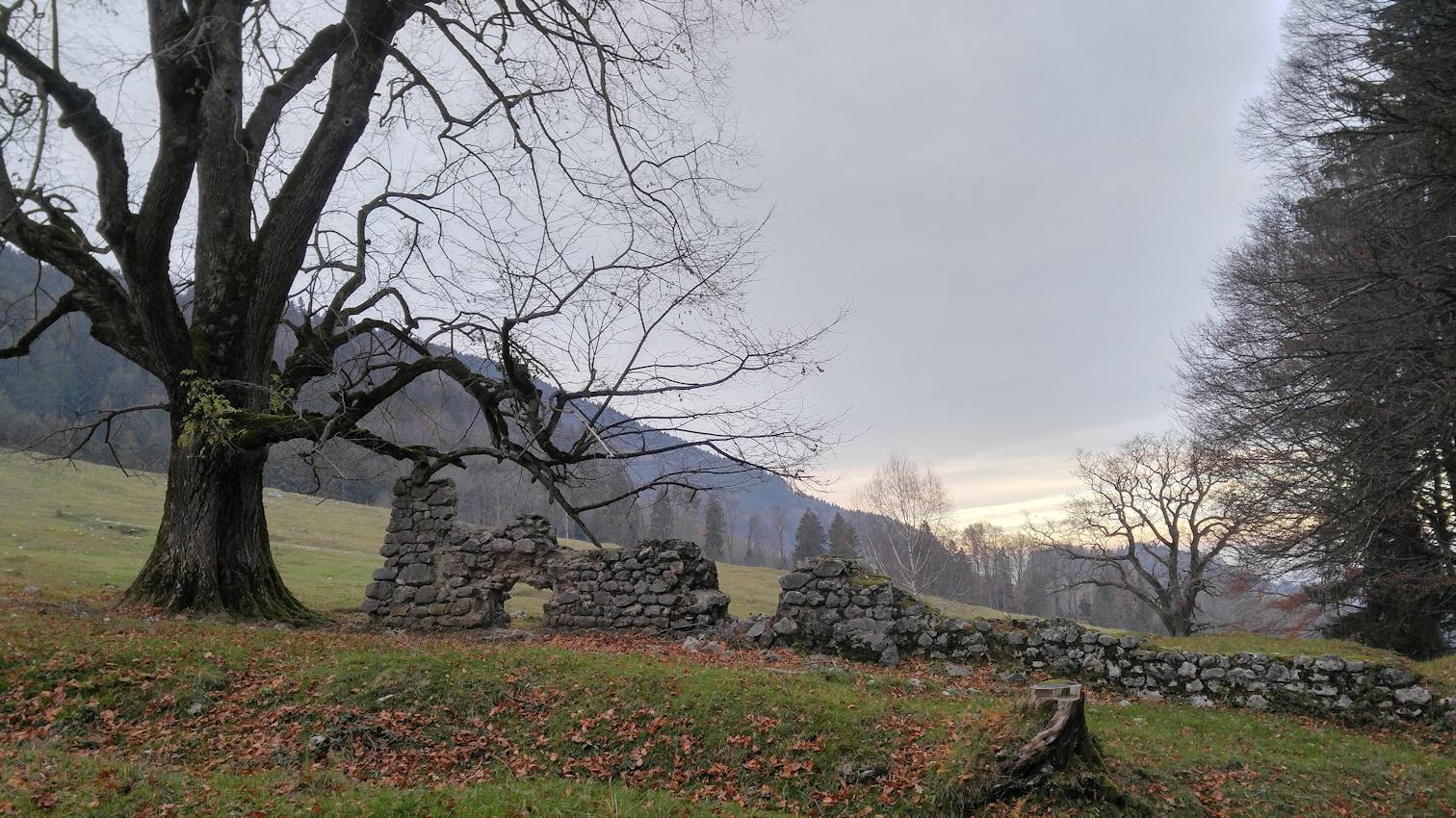 Wanderung ohne Auto: geheime Pfade von Brannenburg auf die Rampoldplatte