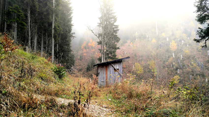 Wanderung ohne Auto: über's Fensterl auf den Breitenstein bei Fischbachau