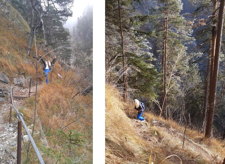 Wanderung ohne Auto: Kuhfluchtfälle bei Farchant als Halbtagstour