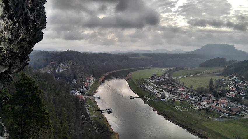 Bastei und Schwedenlöcher: kleine spektakuläre Runde nahe Dresden