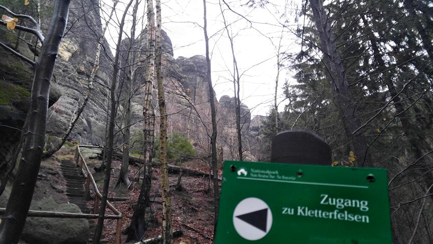Schrammsteine: spannende Runde über steile Leitern und Grate