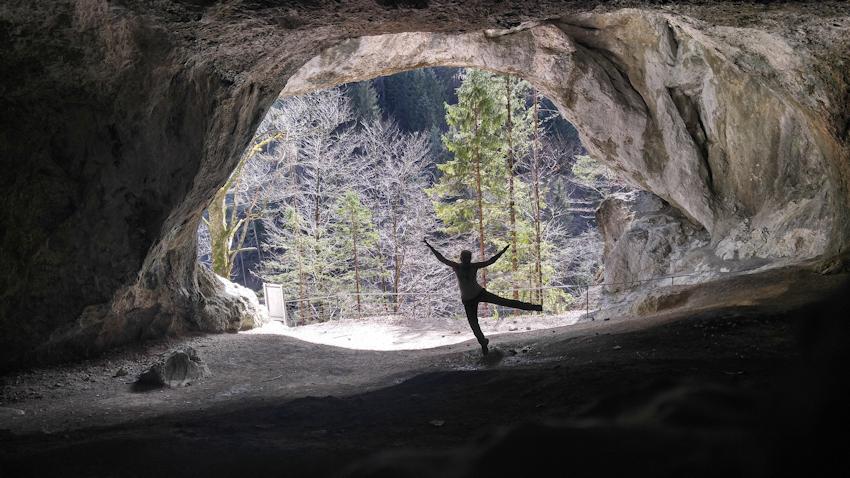 Tischofer Höhle im Kaisertal von Riesen und Höhlenbären