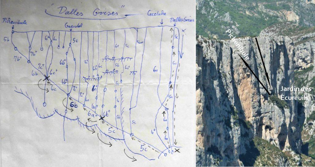Am seidenen Faden – Klettern mit unfreiwilliger Nacht in den Wänden der Verdonschlucht