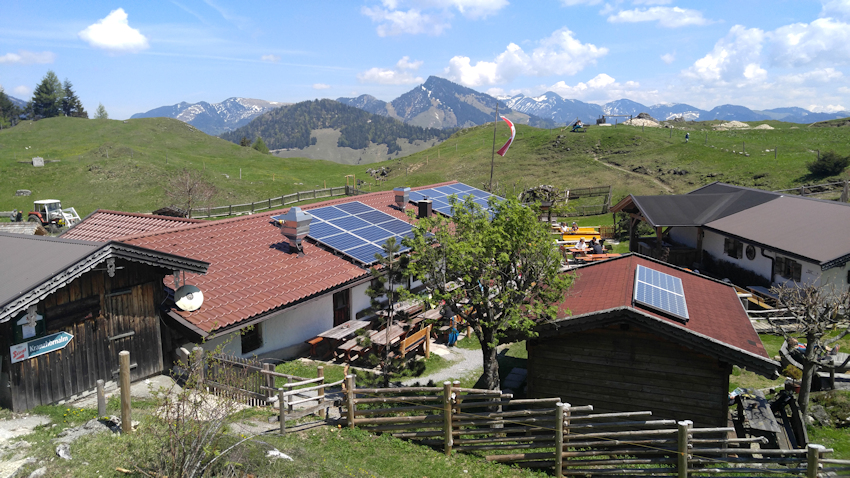Kranzhornalm Kranzhorn Tirol