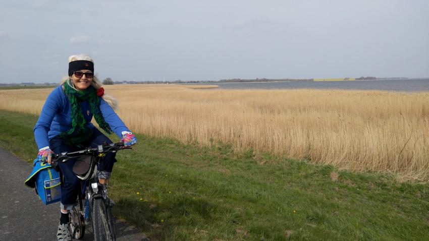 Ostseeküste Radweg: durch den Nationalpark der Bodden nach Stralsund