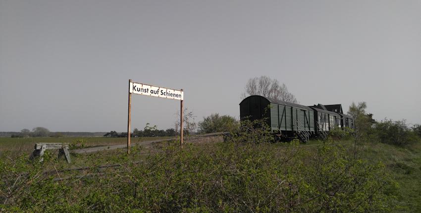 Ostseeküste Radweg: durch den Nationalpark der Bodden Darßbahn