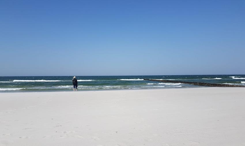 Ostseeküste Radweg: Prerow und Nationalpark der Bodden
