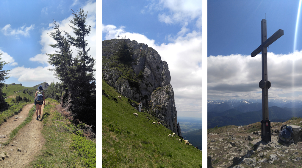 Spannende Zweitagestour: Benediktenwand von Lenggries, Stangeneck und vorderer Kirchstein