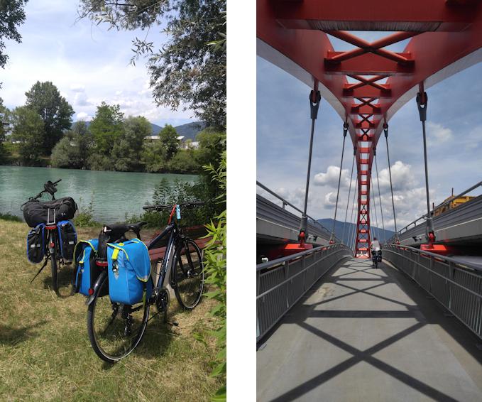 Alpe Adria Radweg: Villach