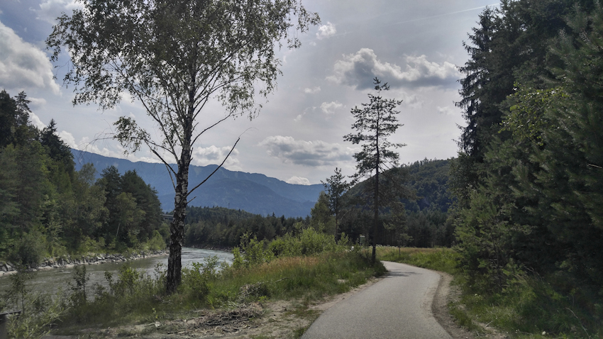Alpe Adria Radweg: Villach - Tarvis Gailradweg
