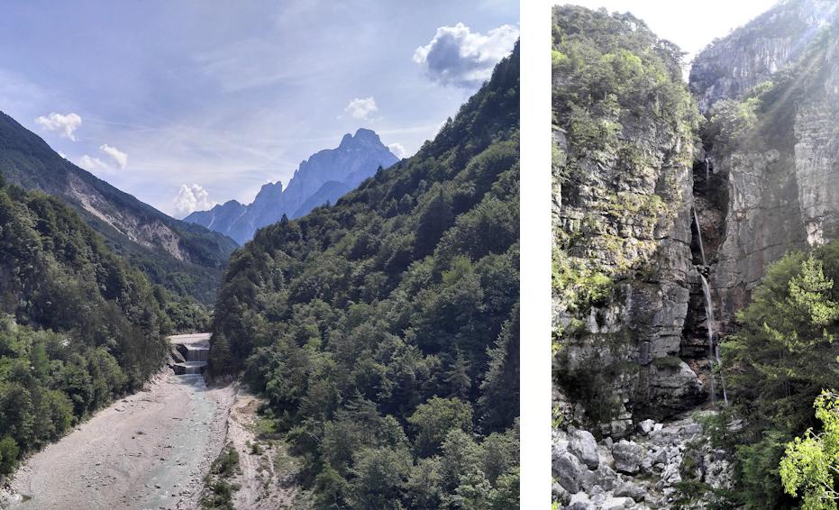 Alpe Adria Radweg durch die julischen Alpen