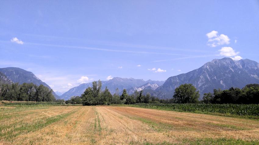 Alpe Adria Radweg: Venzone - Udine