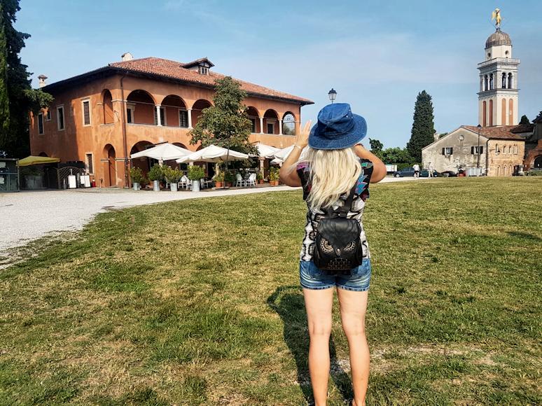historische Altstadt Udine am Castello
