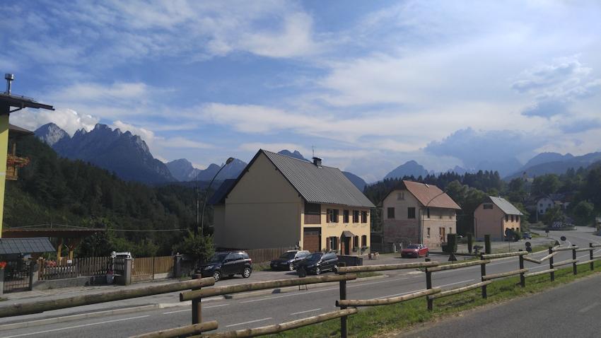 Alpe Adria Radweg: Villach - Tarvis