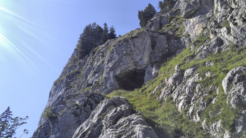 Zwergenloch Höhle am Brünnstein