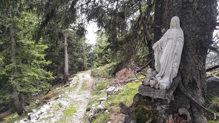 Gratweg zum Rauheck und nach Ohlstadt