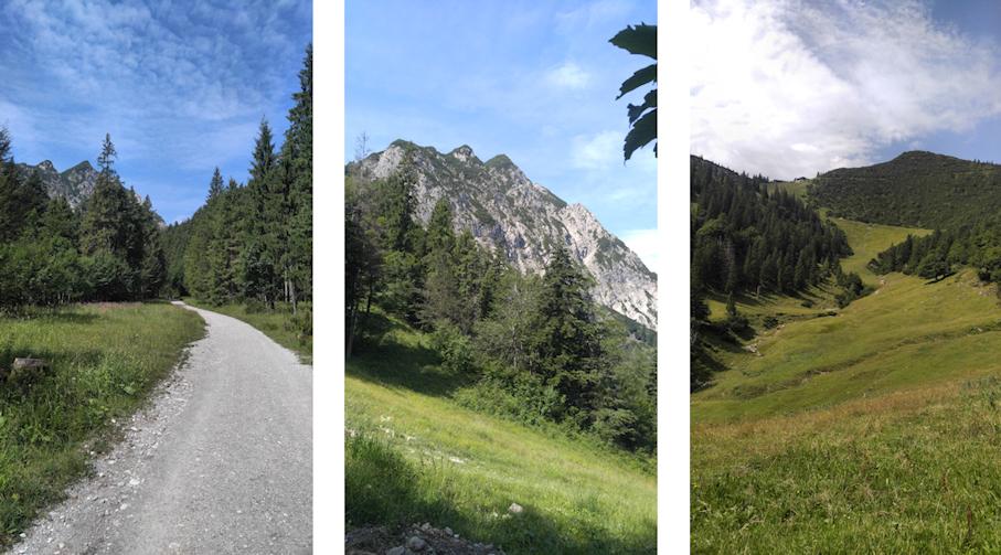 Reitweg von der Kesselberg Passhöhe zum Herzogstand