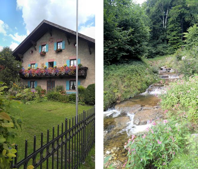 Start in Brannenburg am Kirchbach