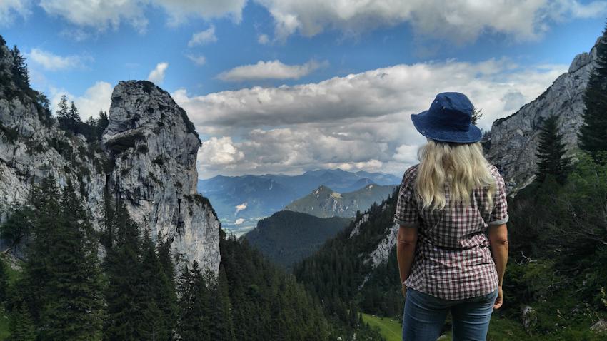 Wanderung ohne Auto: Gipfeltraumtour über den Wendelstein