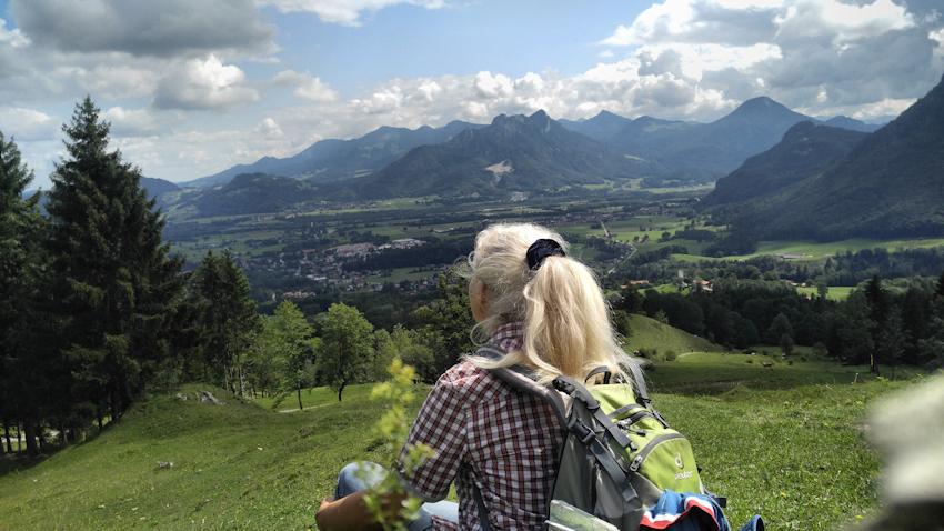 von Brannenburg zur Breitenberghütte und drei Linden