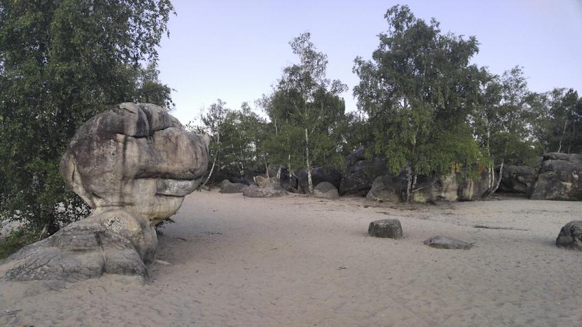 Cul de Chien Bouldergebiet