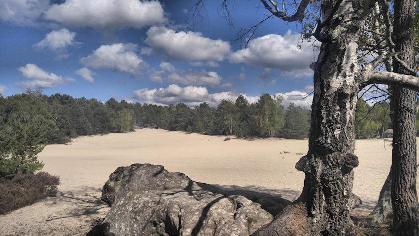 Viel weisser Sand in Cul de Chien