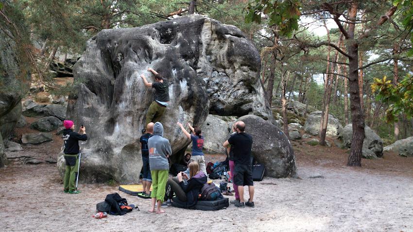 Der Elephant Boulder