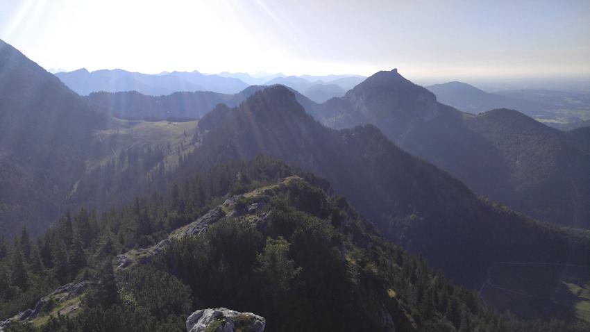 Blick nach Osten von der Hochsalwand