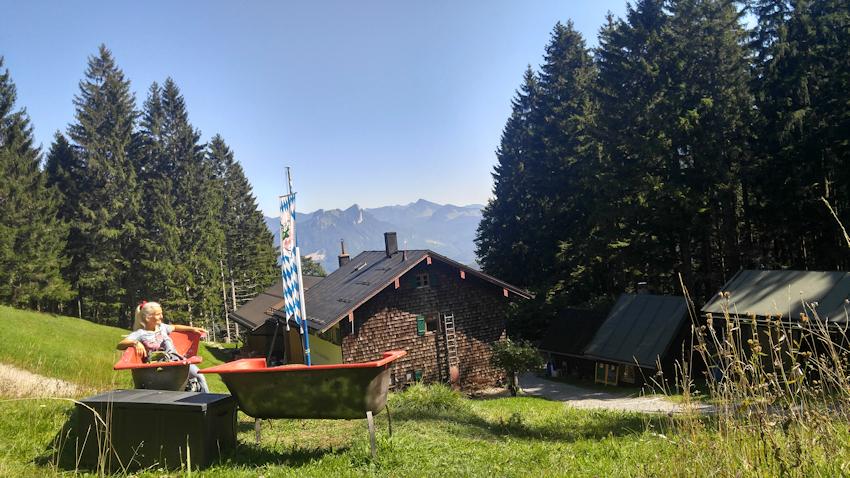 Breitenberghaus der Naturfreunde bei Brannenburg
