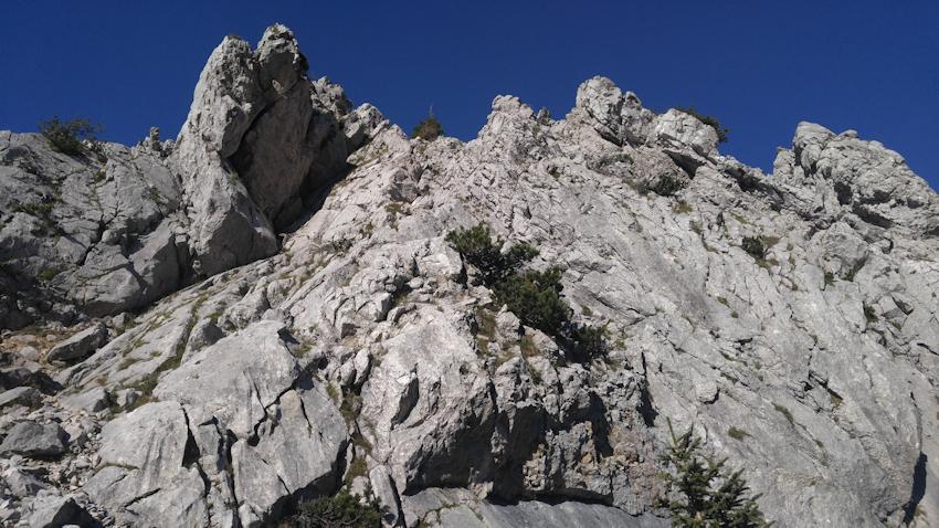 Aufstieg zum Lechnerkopf